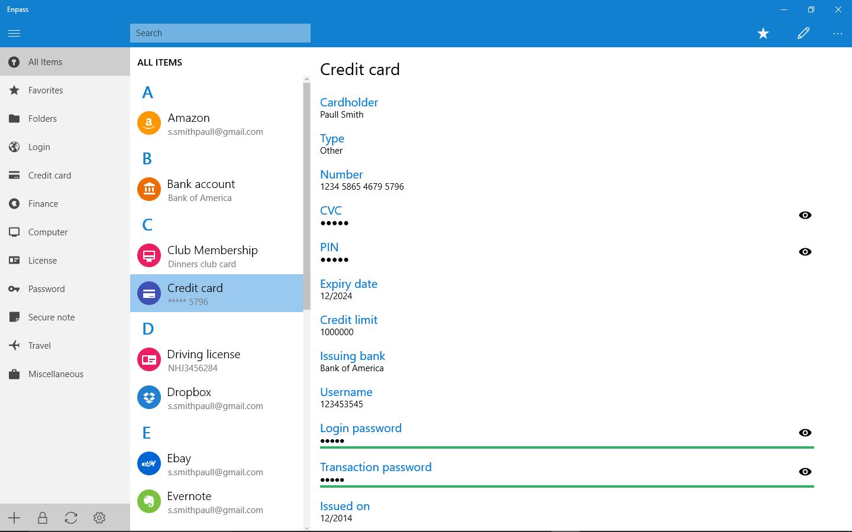 It's finally here… Enpass Universal App for Windows 10 | Enpass
