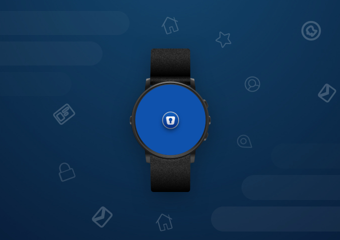 Enpass on Android smartwatch