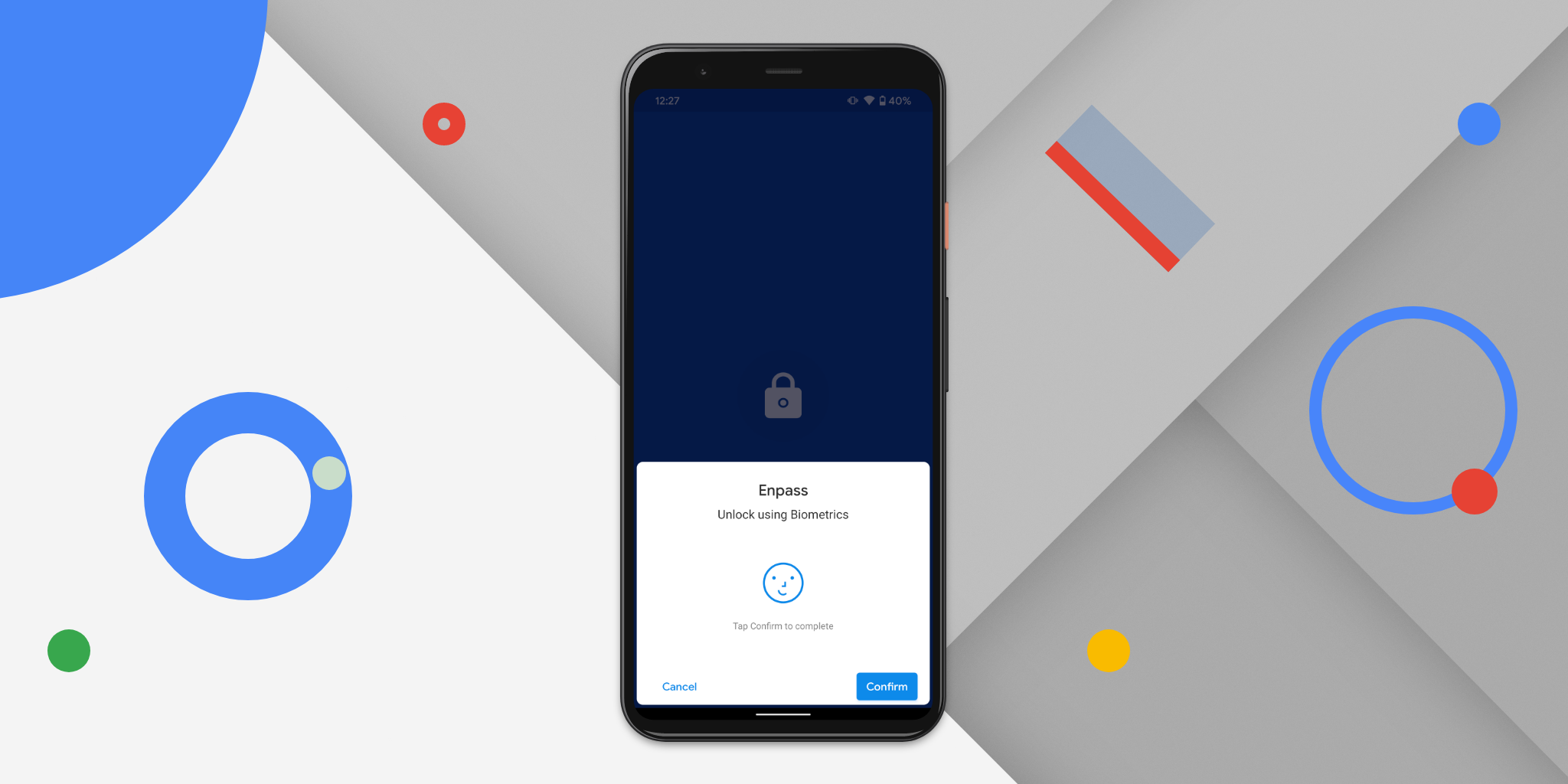 Enpass supports Face Unlock on your shiny new Pixel 4