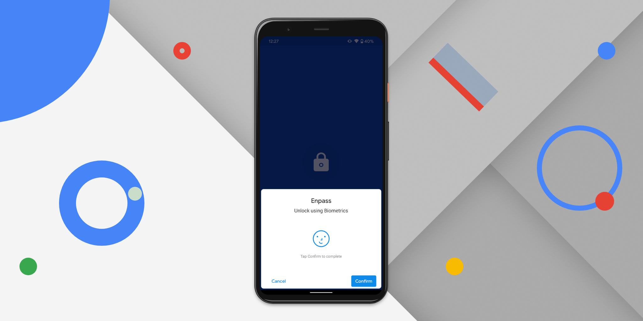 Enpass support pixel 4 face unlock